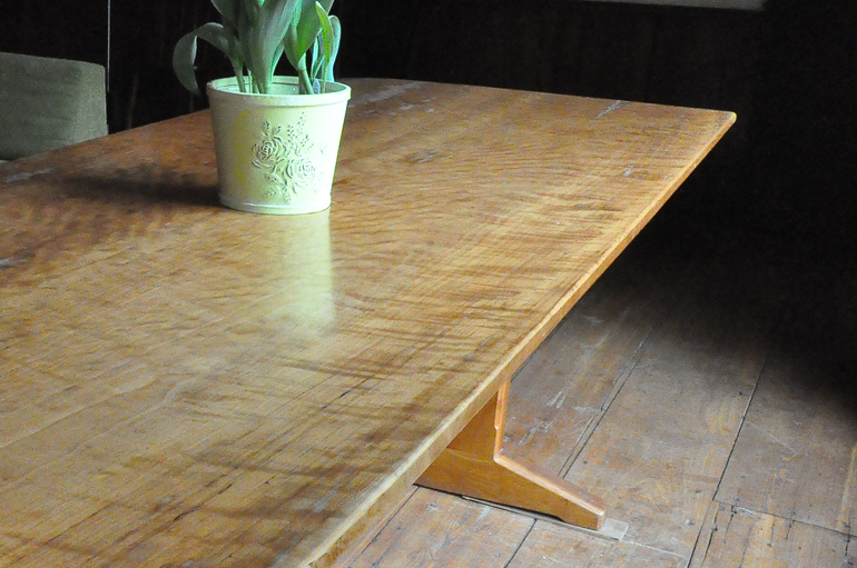 Trestle Table Ii James Wurzbach Custom And Fine