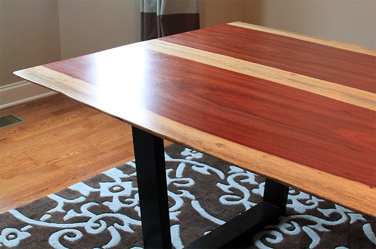 Padauk Dining Table James Wurzbach Custom And Fine