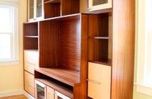 Wall Unit and Credenza